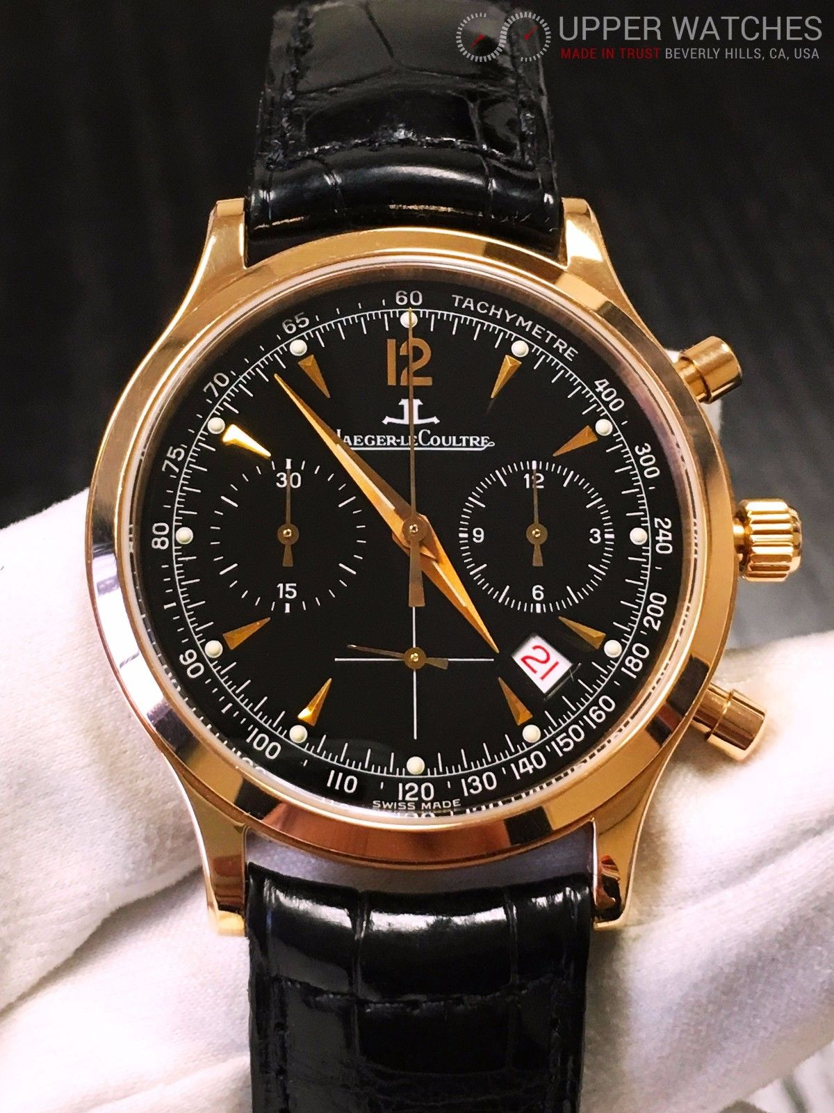 Jaeger lecoultre master chronograph 145 upper watches for Chronograph master