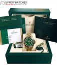 Rolex 116718 LN GMT Master II with Green Dial 18K Yellow Gold