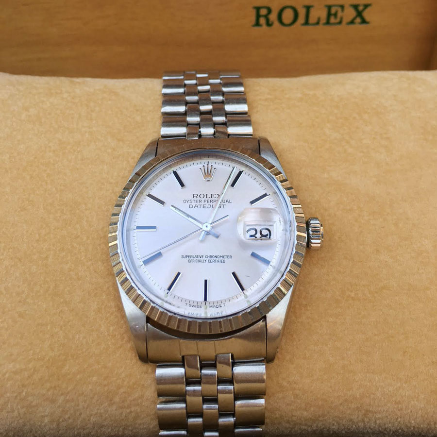 Rolex Datejust 1601 Silver Dial Upper Watches