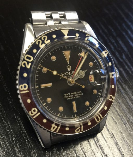 Original Rolex Vintage GMT Master 6542 No Crown Guard