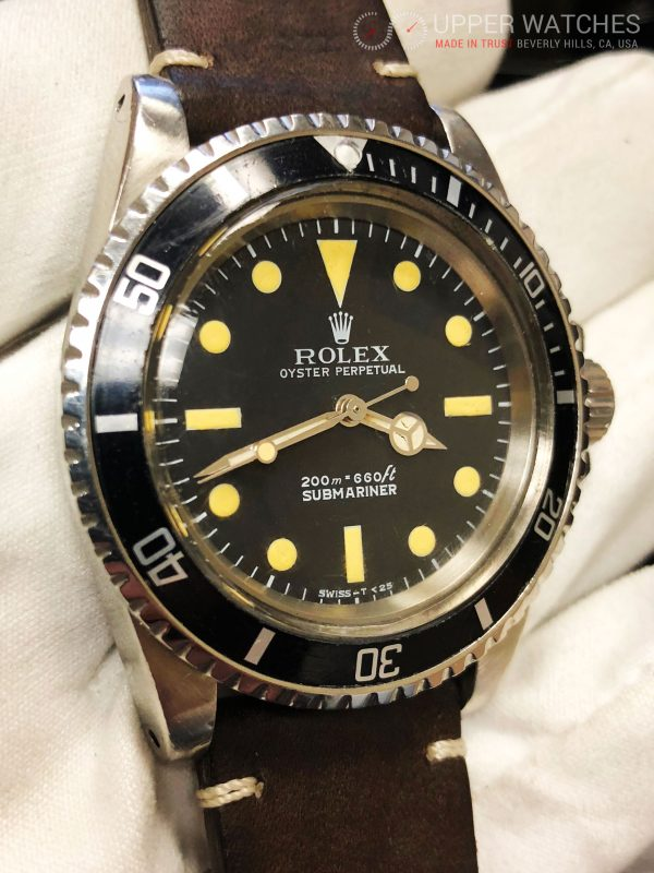 Rolex Submariner 5513 no date automatic Vintage Stainless Steel