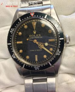 Rolex 6202 Turn O Graph Gilt dial
