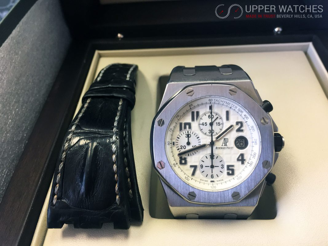 Audemars Piguet Royal Oak Offshore Safari In Stainless Steel