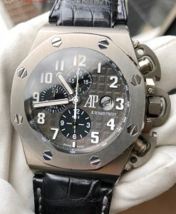 Audemars Piguet T3 Terminator 3 Royal Oak Offshore Titanium 25863TI.OO.A001CU.01 LIMITED EDITION of only 1000 pieces 100% GENUINE - 100% ORIGINAL ROYAL OAK OFFSHORE 48mm
