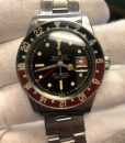 Rolex GMT MASTER 6542 Bakelit Bezel circa 1959 box and service papers